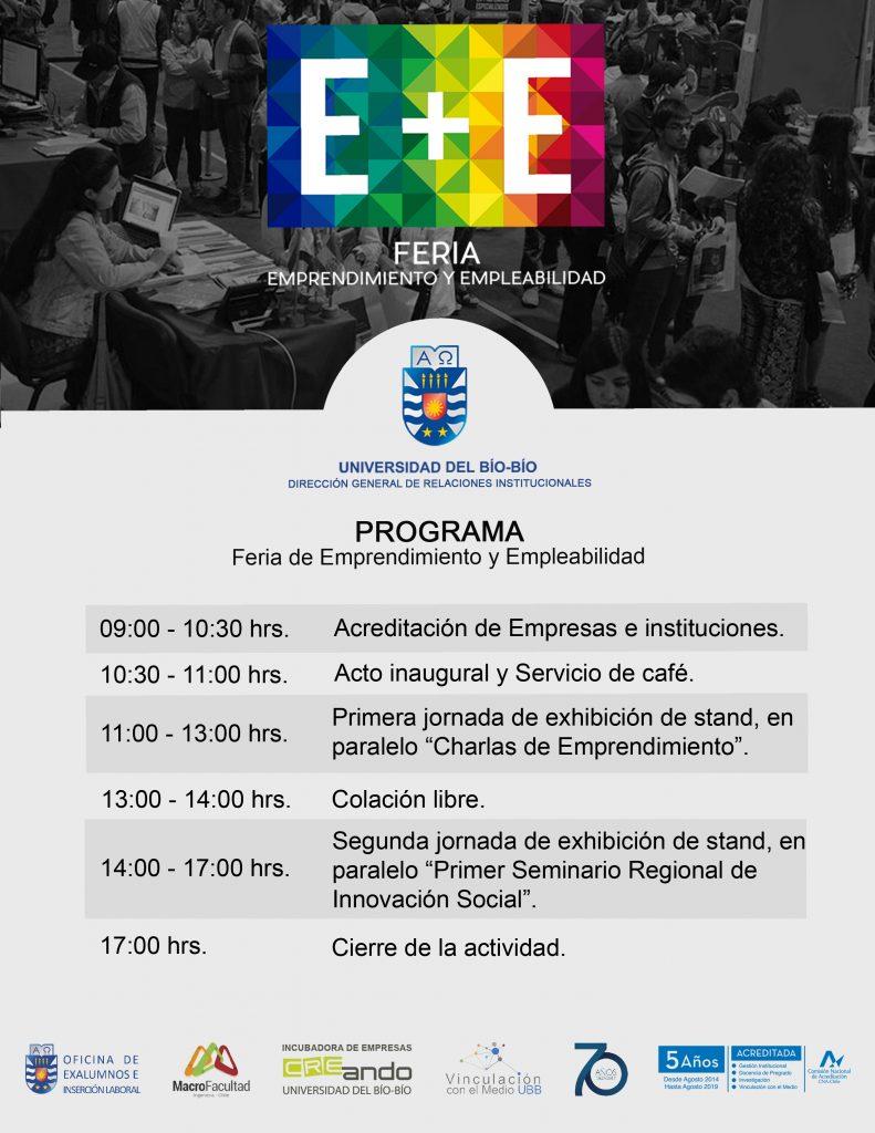 Programa General Feria E+E